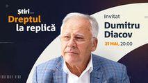 Dumitru Diacov, invitatul emisiunii Dreptul la Replică de la Știri.md