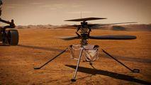 Sunetul elicopterului Ingenuity, aflat pe Marte, înregistrat prima dată