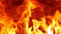 Autocar din R. Moldova, filmat în flăcări pe o autostradă din Germania