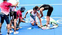 Campionul olimpic la triatlon s-a prăbușit după linia de sosire