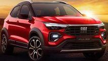 Fiat Pulse este numele noului SUV italian pentru America de Sud