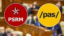 PSRM: PAS nu vorbește despre jaful bancar, pentru că a participat la el