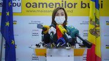 Președinția anunță cu cine se va întâlni Maia Sandu la Bruxelles