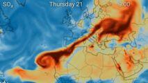 Un nor dens de substanță toxică, deasupra R. Moldova: De unde vine