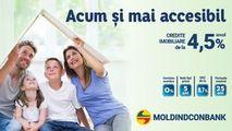 De la 4,5% anual: Cu Moldindconbank, creditul ipotecar e mai ieftin Ⓟ