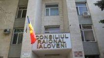 Protest la Consiliul Raional Ialoveni: Demisia, jos mafia, Sajin afară