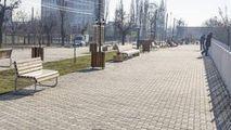 Scuarul Maria Drăgan inaugurat acum 2 ani este din nou în reparaţii