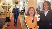 Naforniță s-a întâlnit cu Maia Sandu la Viena: Cât de onorant a fost