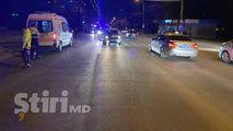 Chișinău: O mașină a lovit o tânără care traversa regulamentar strada