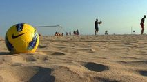 Naționala de fotbal pe plajă a pierdut două meciuri în fața Ucrainei