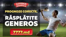 Loteria: Câștigurile Sport de pe 7777.md depășesc 50 milioane de lei Ⓟ