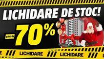 Bomba: Lichidare de stoc. Reduceri până la - 70% Ⓟ