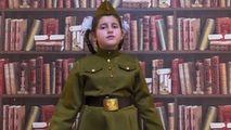 Fiica lui Șor, filmată cum recită o poezie despre ororile războiului