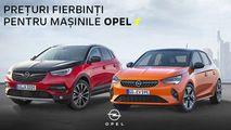 GBS: Lansăm prețuri fierbinți pentru mașinile Opel Ⓟ