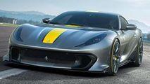 Ediție limitată: Ferrari și-a prezentat bolidul bazat pe 812 Superfast
