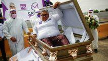 Alegeri regionale în Mexic: Un candidat şi-a lansat campania din sicriu