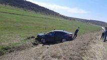 Accident violent la Ungheni: Două mașini au fost avariate