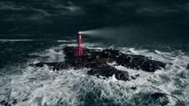 Un cinematograf, amenajat într-un far pe o insulă pustie din Suedia