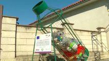 Sate din raionul Străşeni, dotate cu boxe pentru colectarea plasticului