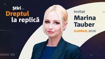 Marina Tauber, invitata emisiunii Dreptul la Replică de la Știri.md