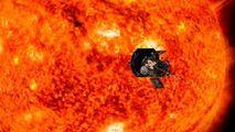 """O navă spațială NASA tocmai """"a atins"""" învelișul exterior al Soarelui"""
