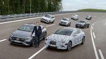 Mercedes-Benz: 3 platforme electrice în 2025 și 8 uzine de baterii