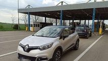 Șofer din R. Moldova, prins în România cu o mașină furată din Franța