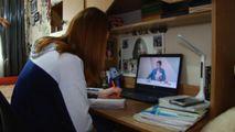 Elevă: Moldova nu a fost pregătită să treacă la învățământul la distanță