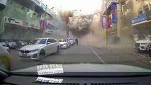 Explozie de proporție, filmată în China: 3 morți și zeci de răniți
