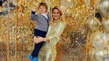 Natalia Gordienko și-a arătat tatăl: Te felicităm dragule tătic și bunic