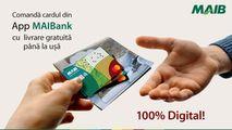MAIB: Cardurile noi ajung gratuit acasă Ⓟ
