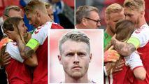 Reacții după ce Kjaer i-a făcut respirație lui Eriksen: Un erou