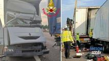 Accident în Italia: Un moldovean a murit strivit în cabina camionului