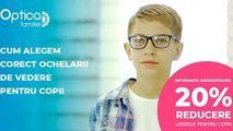Optica Familiei: Alegem corect ochelarii de vedere pentru copii Ⓟ