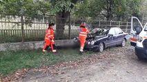 Tragedie la Edineț: Bărbat așezat pe scaun, spulberat de un Mercedes