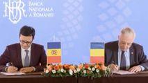 Băncile centrale din Moldova și România au semnat un acord de cooperare