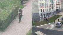 Detalii despre starea atacatorului rus: Spitalul e păzit de 18 polițiști