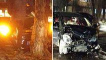 Accident grav în sectorul Râșcani din Capitală: O mașină, făcută zob