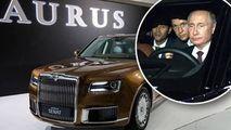 Mașina lui Putin, fabricată în serie: Prețul este de la 250.000 de euro