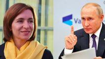 Sandu anunță ce ar vrea să discute cu Putin: Vrem o relație pragmatică