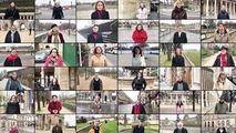 Versuri din Glossa eminesciană, recitate pe străzile Parisului