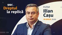 Ilian Cașu, invitatul emisiunii Dreptul la Replică de la Știri.md