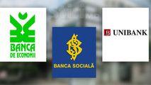 BNM anunță cât au încasat BEM, Banca Socială și Unibank în ultimii 6 ani