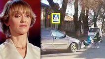Mama cu cărucior lovit de o mașină pe zebră e soția lui Alex Calancea