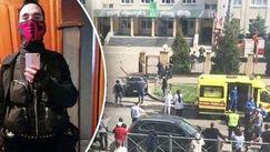 Atacul armat din Rusia: Momentul în care elevii sar prin geamul școlii