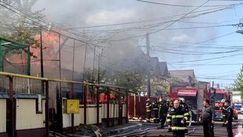 România: Șase locuinţe şi anexe ale acestora au fost cuprinse de flăcări