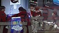 Imagini dinaintea bătăii la stația PECO: Momentul reținerii agresorului