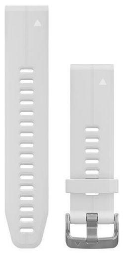 cumpără Accesoriu pentru aparat mobil Garmin QuickFit fenix 6s 20mm White Silicone Band în Chișinău