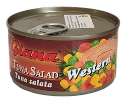 Салат из тунца Western Giana 185 гр