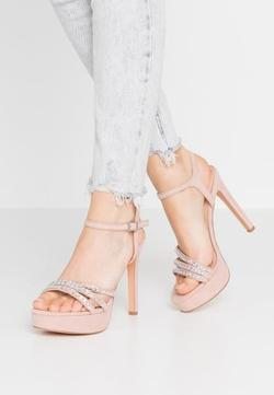 Sandale EVEN&ODD Roz pastelat sandals nude xcwby